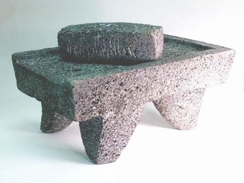 Metate Y Mano Mortar And Pestle Kitchen Tools Cooking Stone Cooking Utensils