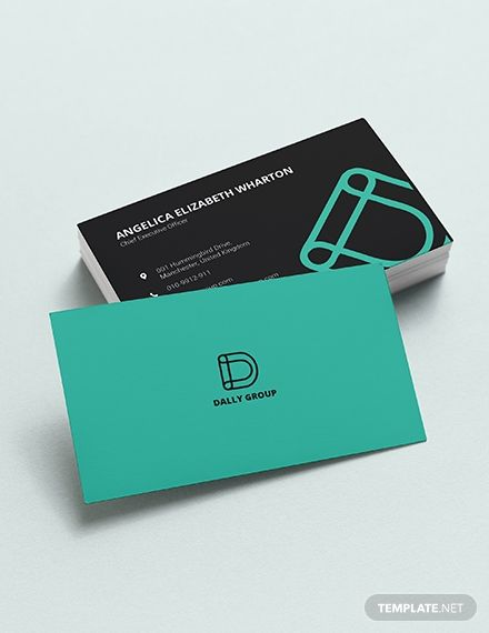 Simple Business Card Template Word from i.pinimg.com