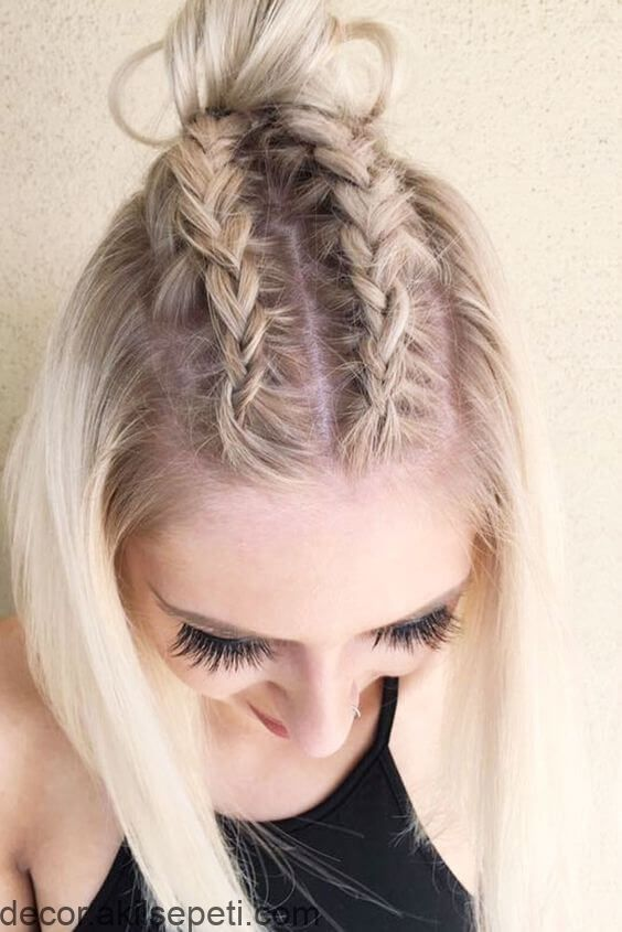 27 Braid Hairstyles For Short Hair That Are Just Beautiful Beautiful Braid Hair Hairstyles Short Braids For Short Hair Cool Braid Hairstyles Easy Braids