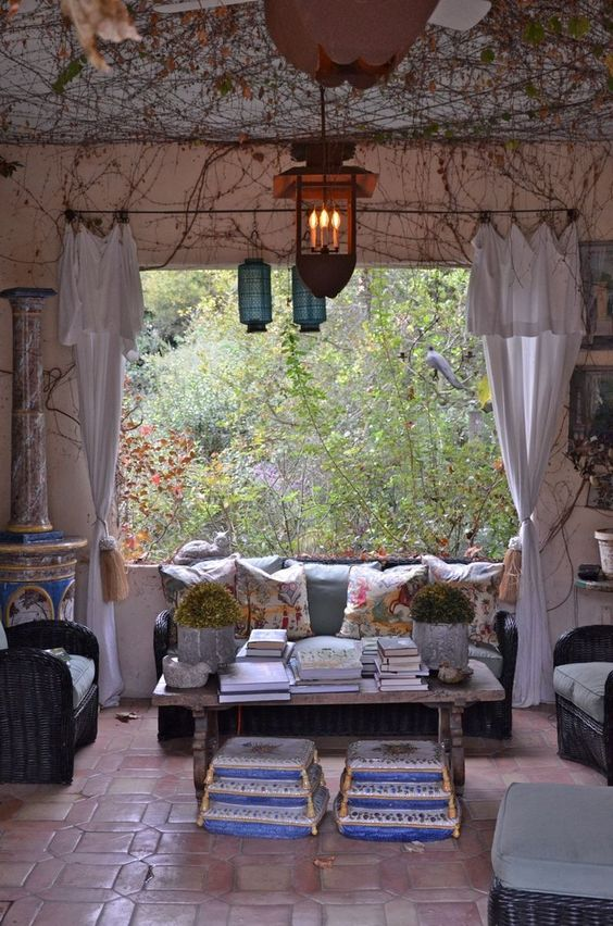 Loggia and lanterns for people like us in the city for Furniture world bremerton