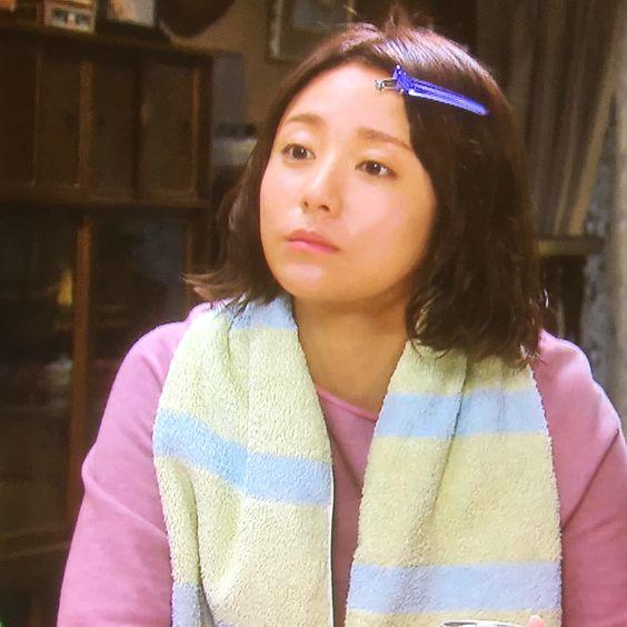 ひょうきんな顔をした木村文乃さん