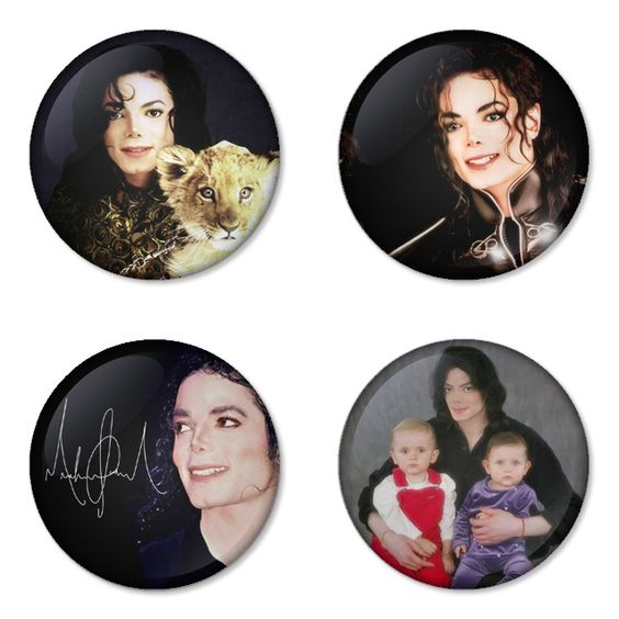 "MICHAEL JACKSON 1.75"" Badges Pinbacks, Mirror, Magnet, Bottle Opener Keychain http://www.amazon.com/gp/product/B00CCKQ3BQ"