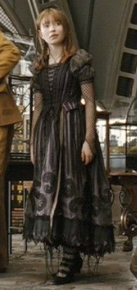 Emily Browning as Violet Baudelaire in 'A Series of Unfortunate Events'.