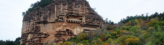The Maijishan Grottoes. China | Feel The Planet