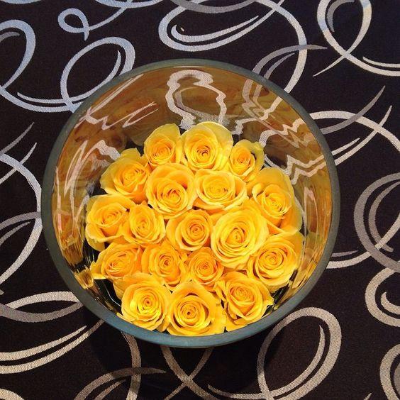 #c2mdesigns #floral #floraldesign #centerpiece #corporateevent #event #yellow #blackandwhite #linen #contemporary #style #designer #nxtevent #designsthatrock #likeC2MdesignsFacebook Designer: #christinemccaffery