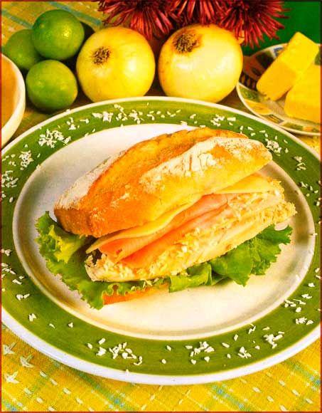 Sandwichs-caribenos-de-pavo