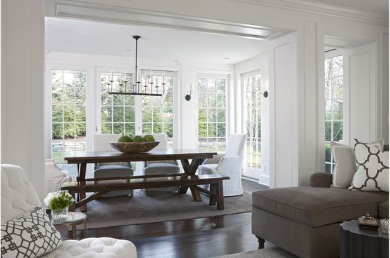 Kitchen dining rooms sun and nooks on pinterest for Jones design company dining room
