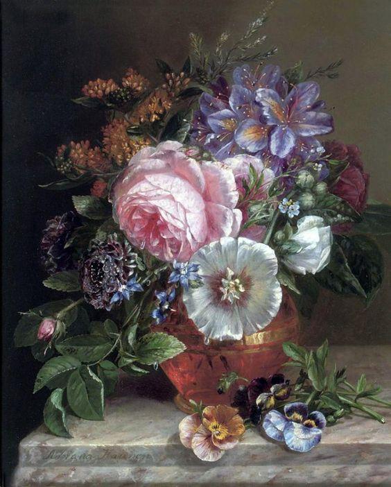 цветы в живописи - Самое интересное в блогах