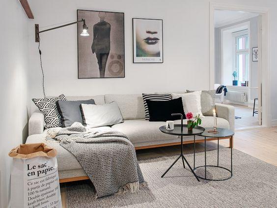 Un appartement de style scandinave
