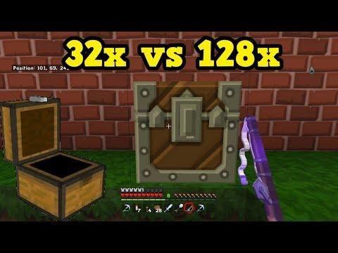 Minecraft Bedrock 128x Texture Packs How Much Better Are They Texture Packs Texture Bedrock