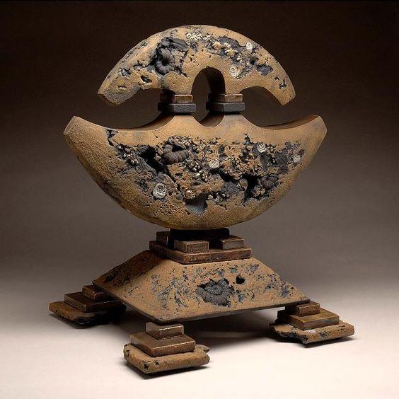 Ceramics Sheldon Ganstrom Artist Altar Clay Glazes