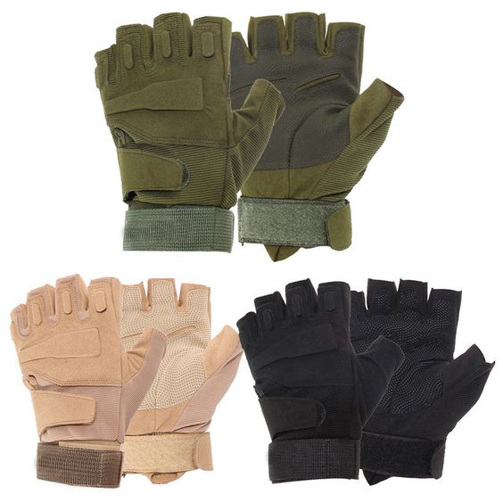 Outdoor Military Airsoft Hunting Paintball Cycling Army Tactical Gloves #gib