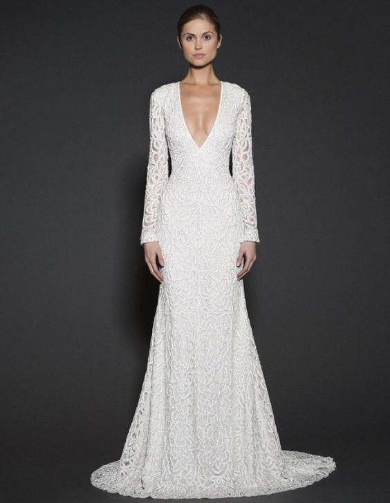 Decote V | Mariée: Inspiração para Noivas e Casamentos