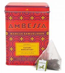 Ambessa Safari Breakfast – Tea Sachets, Tin of 20