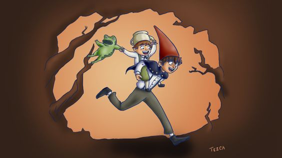 "Fanart de ""over the garden wall"" que me toco dar de regalo en un intercambio"