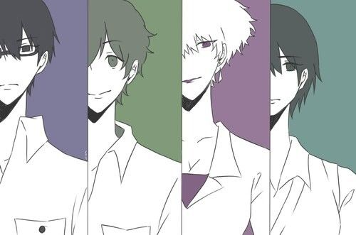 Nine, Twelve, Five, and Lisa | Zankyou no Terror