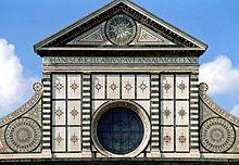 Leon Battista Alberti —Santa Maria Novella (Florence)