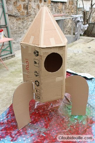 Ciloubidouille » Fabriquer une fusée
