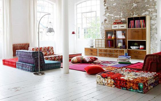 Bohemian Living Rooms Floors The Bohemian Bohemian Living Playroom