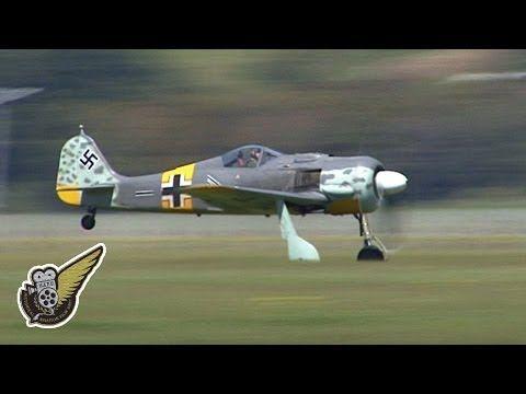 Focke Wulf FW-190A/N - Luftwaffe Fighter - YouTube