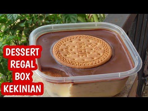 Resep Dessert Regal Box Puding Busa Lumer Lembut Jadi 1 Youtube Cooking Recipes Desserts Refreshing Desserts Dessert Boxes