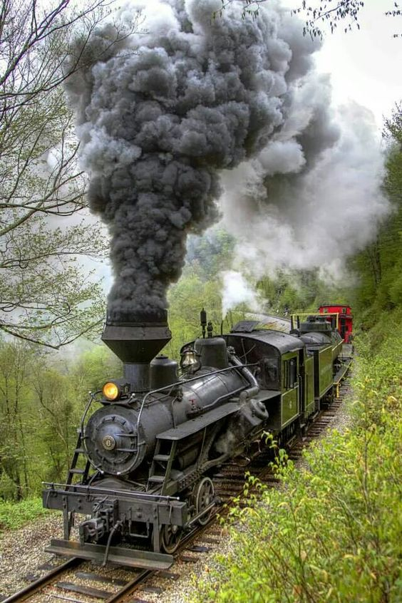 Cass Railroad in West Virginia by Tom Steele Photography: