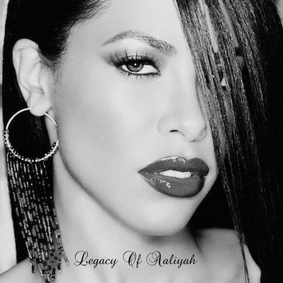 """""Keep working hard and you can get anything that you want."" #Aaliyah #AaliyahDanaHaughton """