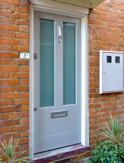 Contemporary, quality wooden front doors by The London Door ...