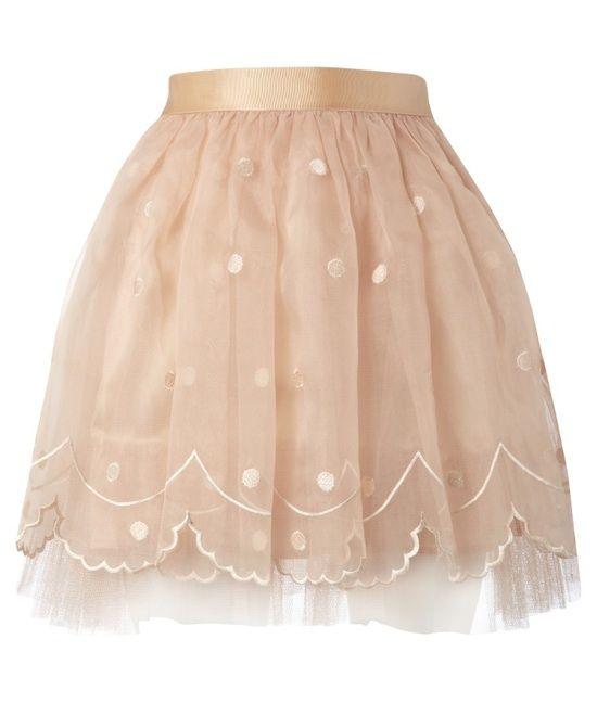Lipsy Embroidered Tutu Skirt