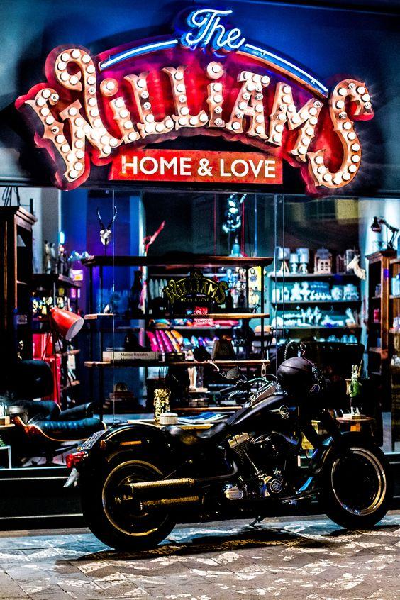 The Williams, loja de decoração que ficava no começo da Avenida Brasil.