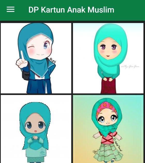 Gambar Kartun Anak Anak Islami Di  Kartun