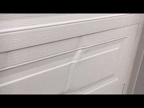 Extreme Pdr On A Garage Door Untypical Paintless Dent Repair Sharing Garage Door Design Garage Doors Garage Door Panels