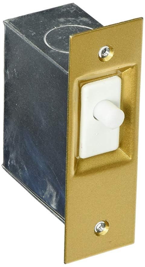 Lee Electronic 210dn Elect 1200w Door Light Switch Wall Light Switches Amazon Com Light Switch Wall Light With Switch Closet Lighting
