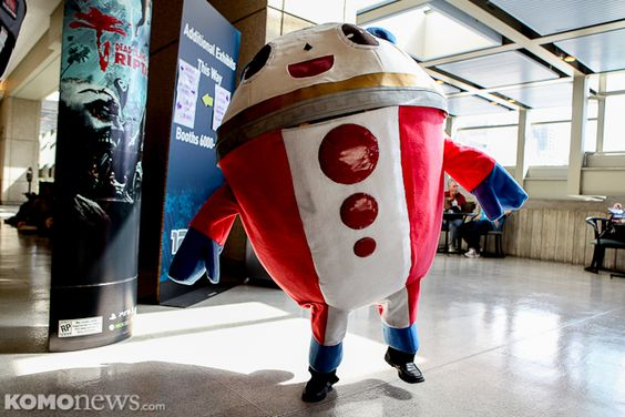 Seen at Seattle's Penny Arcade Expo! We have more photos on our website.
