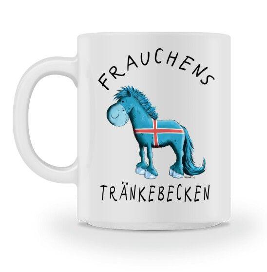 Frauchens Trankebecken Islander I Tasse Tassen Pferde Und