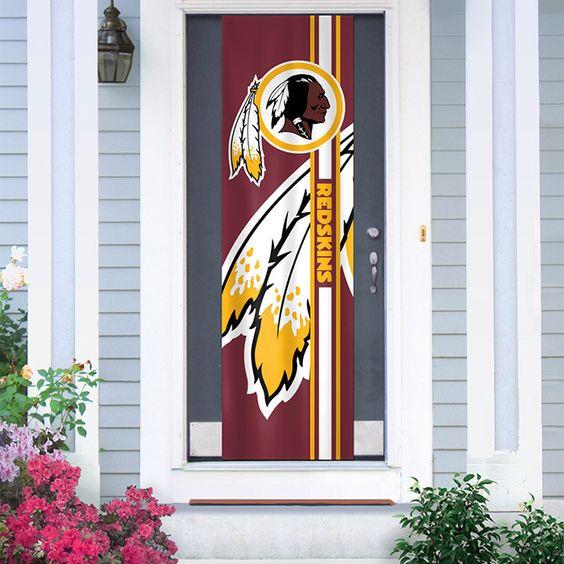 Washington Redskins All Season Interiorexterior Door Banner