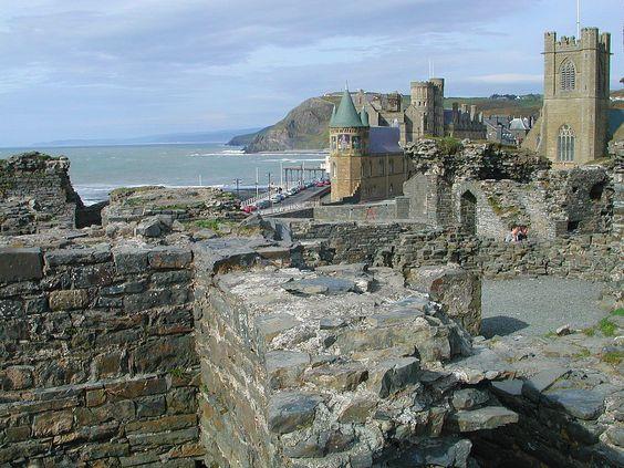Aberystwyth Castle   Welsh Name: Llanbadarn  In the town of Aberystwyth, Ceredigion, west Wales