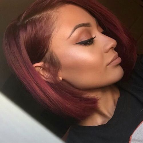 Miraculous Colors Red Hair And Burgundy Red Hair On Pinterest Hairstyles For Women Draintrainus