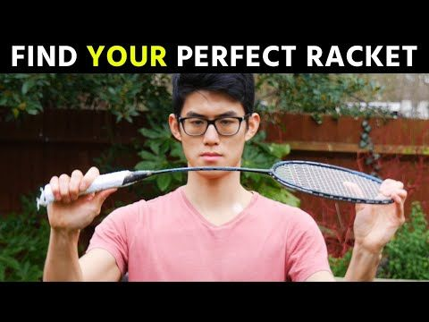 How To Choose A Badminton Racket The Ultimate Guide Youtube In 2020 Badminton Racket Badminton Rackets