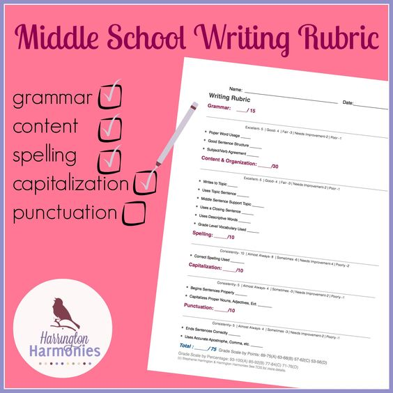 Writing Prompts for Middle School - My HRW