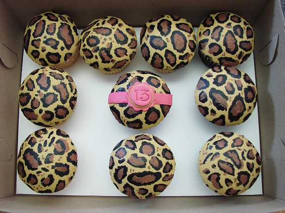 cheetah print cupcakes   Recent Photos The Commons Getty Collection Galleries World Map App ...