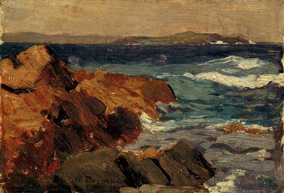 """William Brymner (1855–1925), """"Près de Louisbourg, Cap Breton, Nouvelle-Écosse"""", entre 1904 et 1914"""