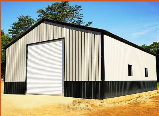 Color Your Metal Building 3d View Color Planner Carport Central In 2020 Metal Building Prices Steel Buildings Metal Buildings