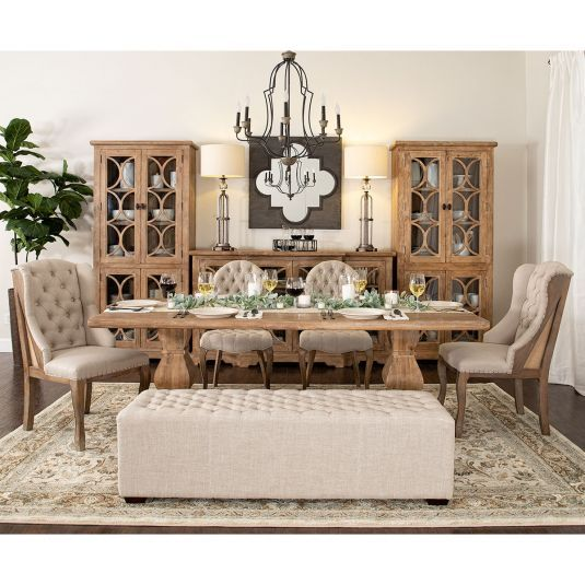 Florentine Dining Room Table Decor French Country Dining Room
