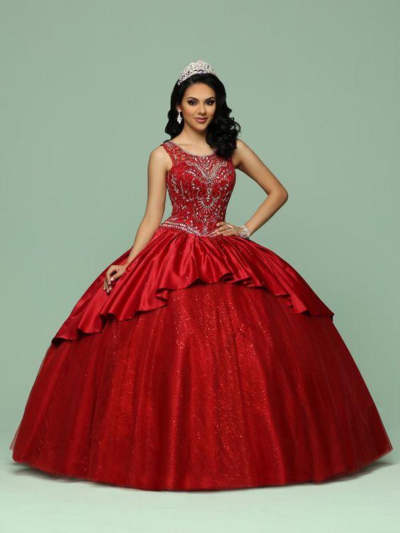 Vestidos de 15 de gala 2017 DaVinci Bridal