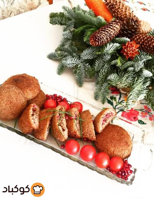 كبة بالفرن بالصور من Shahinaz Bilal Recipe Holiday Decor Christmas Wreaths Holiday