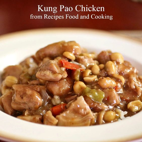 Pressure Cooker Kung Pao Chicken | Recipe | Cooking ...