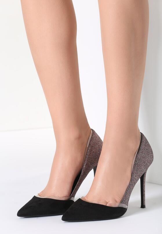 Zlote Szpilki With Me Heels Kitten Heels Shoes