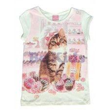 Blusa Gato com Doces - Momi