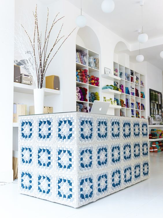 S&S new stockist! Knit With Attitude in London! isn't this wool shop just beautiful?